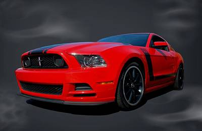 2013 Mustang Boss 302 Poster by Tim McCullough
