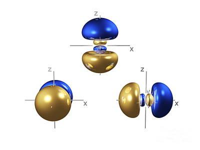 3p Electron Orbitals Poster
