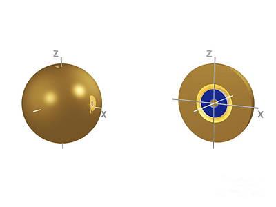 3s Electron Orbital Poster