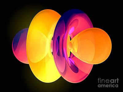 4fz3 Electron Orbital Poster by Laguna Design