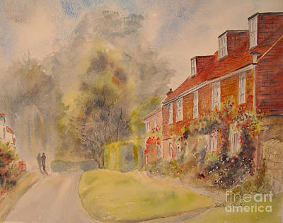 Poster featuring the painting A Corner Of Winchelsea by Beatrice Cloake