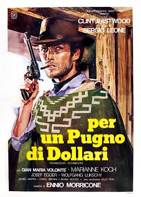 A Fistful Of Dollars Aka Per Un Pugno Poster by Everett