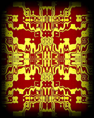 Abstract Series 3 Poster by J D Owen