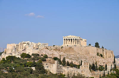 Acropolis Of Athens Poster by George Atsametakis