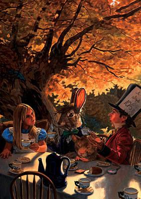 Alice In Wonderland Poster by Patrick Whelan