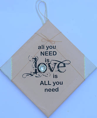 All You Need Is Love Poster by Catt Kyriacou