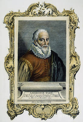 Ambroise Pare (1517?-1590) Poster by Granger
