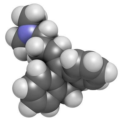 Amitryptiline Tricyclic Antidepressant Poster by Molekuul