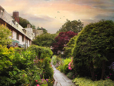 An English Garden Poster by Jessica Jenney