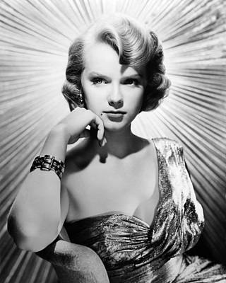 Anne Francis Poster by Silver Screen