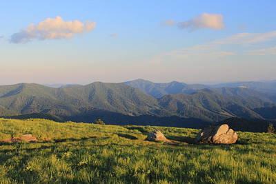 Appalachian Trail Round Bald Roan Mountain Poster