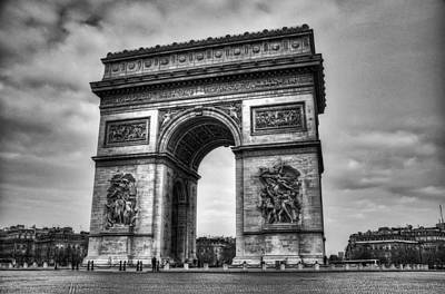 Arc De Triomphe Poster by Ryan Wyckoff