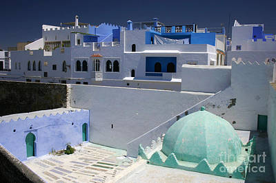 Asilah Meaning Authentic In Arabic Fortified Town On Northwest Tip Of Atlantic Coast Of Morocco Poster