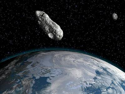 Asteroid Poster