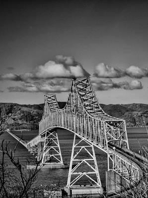 Astoria-megler Bridge Poster by Paul Haist