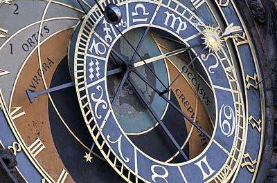 Astronomical Clock. Prague. Poster