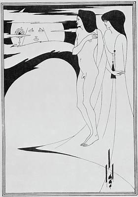 Aubrey Beardsley's Drawings Poster