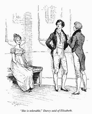 Austen Pride & Prejudice Poster by Granger