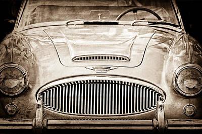 Austin-healey 300 Mk II Poster by Jill Reger