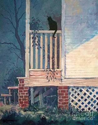 Back Porch Poster