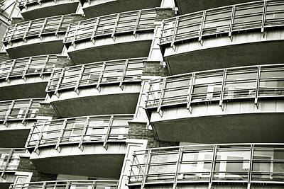 Balconies Poster by Tom Gowanlock