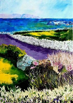 Barna Galway Bay Ireland Poster by Lynda Cookson