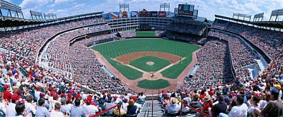 Baseball Stadium, Texas Rangers V Poster