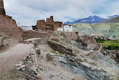 Basgo Monastery In Basgo Ladakh India Poster