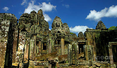 Bayon Temple Poster