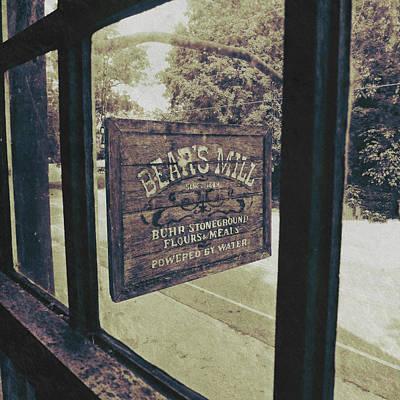 Bear's Mill Poster by Natasha Marco