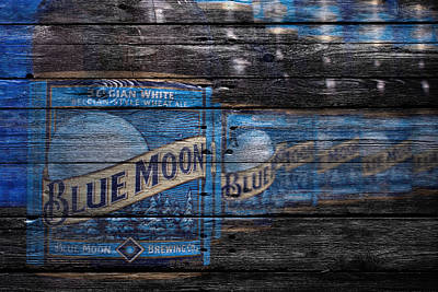 Blue Moon Poster by Joe Hamilton