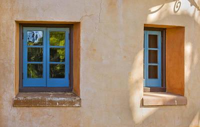 2 Blue Windows Db Poster by Rich Franco