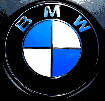 BMW Poster by J Anthony