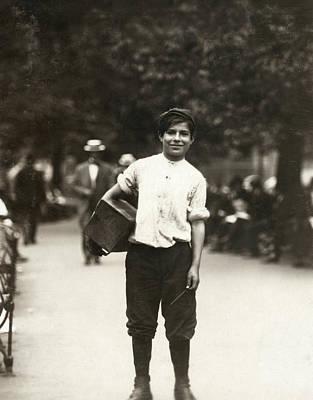 Bootblack, 1910 Poster by Granger