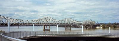 Bridge Across A River, John F. Kennedy Poster