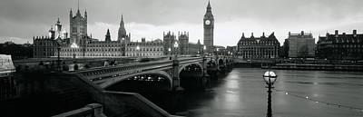 Bridge Across A River, Westminster Poster
