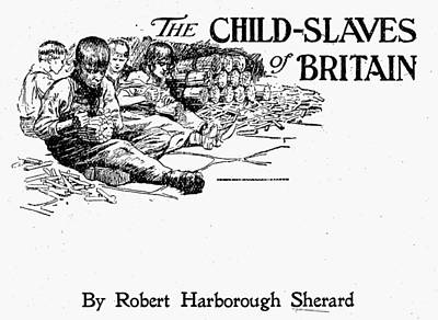 Britain Child Labor, 1905 Poster by Granger