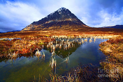 Buachaille Etive Mor Scotland Poster by Craig B