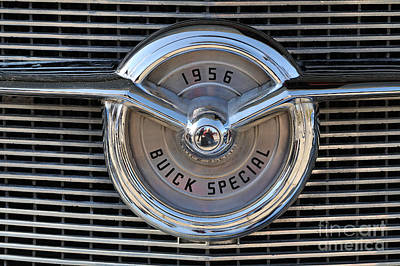 1956 Buick Special Poster by George Atsametakis