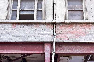 Building Repair Poster by Tom Gowanlock