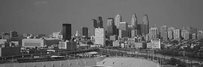 Buildings In A City, Philadelphia Poster