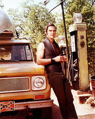 Burt Reynolds In Deliverance  Poster