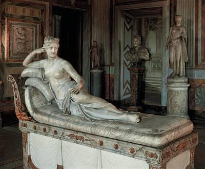 Canova Antonio, Pauline Borghese Poster by Everett