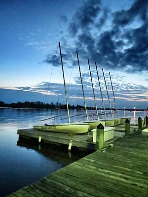 Carolina Wind Yachting Center Poster