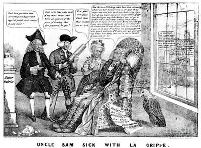 Cartoon: Panic Of 1837 Poster