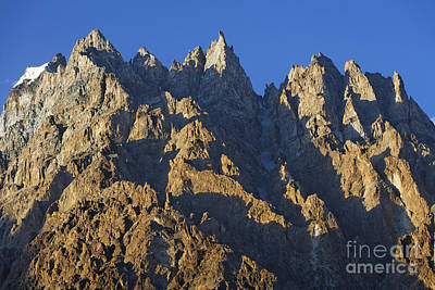 Cathedral Spires Mountain Peaks Poster by Robert Preston