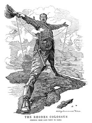 Cecil John Rhodes (1853-1902) Poster by Granger