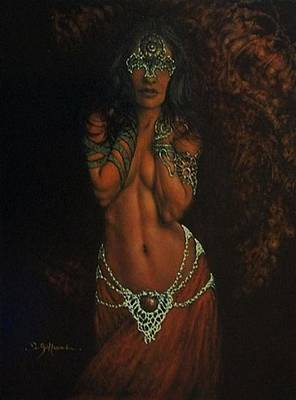 Celtic Spirit  Poster by Guillaume Bruno