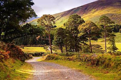 Celtic Spirit. Wicklow  Mountains. Ireland Poster