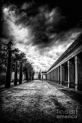Cemetery Of Mantova  Poster by Traven Milovich